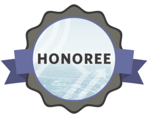 Nominee is Honoree Badge